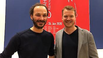 Rennärzte Dr. Simon Gasteiger und Dr. Helmuth Obermoser jun. (v.l.)
