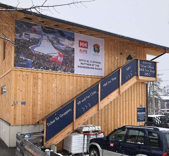 New ticket office for the Hahnenkamm Races
