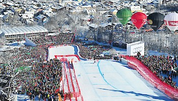 Free entry to watch the Downhill stars live from the grandstands