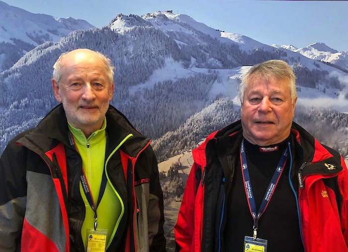 Josef Greiderer and Hans Bachmann