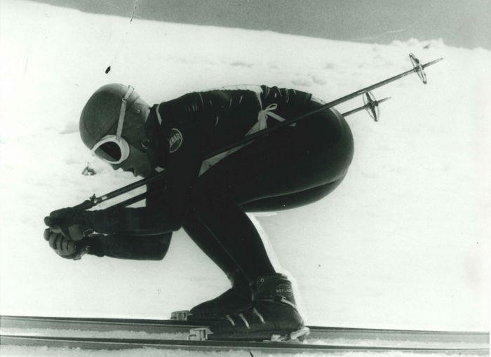 Die schnellste Skifahrerin der Welt